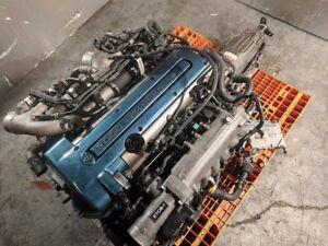 Details about TOYOTA 2JZ-GTE 3 0L VVT-I TWIN TURBO JDM LOW MILEAGE FULL  SWAP with WARRANTY