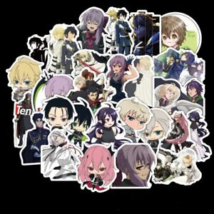 50PCS//SET Anime Sword Art Online PVC Stickers for Luggage Laptop Skateboard DIY