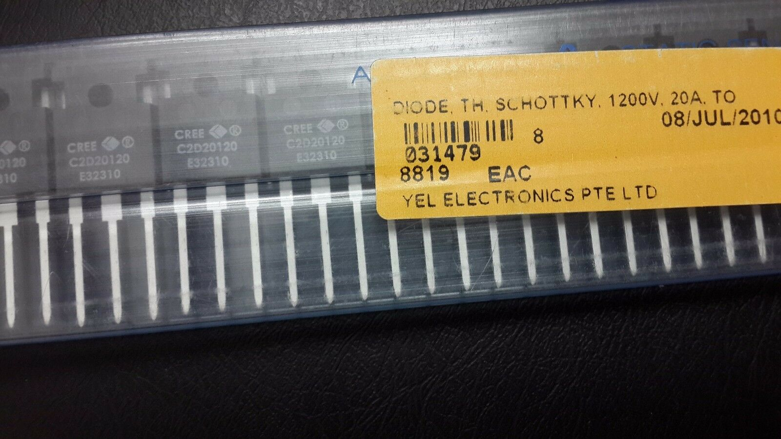100pcs lot Cree C2D20120 SIC Schottky Diode Zero Recovery TO247 1200V 2X10A-New