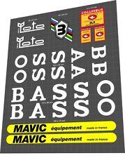BASSO Fior di Loto Sticker / Decal Set