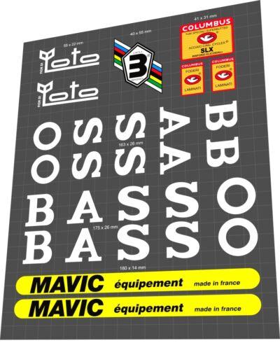 Decal Set BASSO Fior di Loto Sticker
