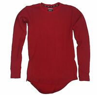 R.s.1ne Marsala Elongated Long Sleeve Waffle Thermal