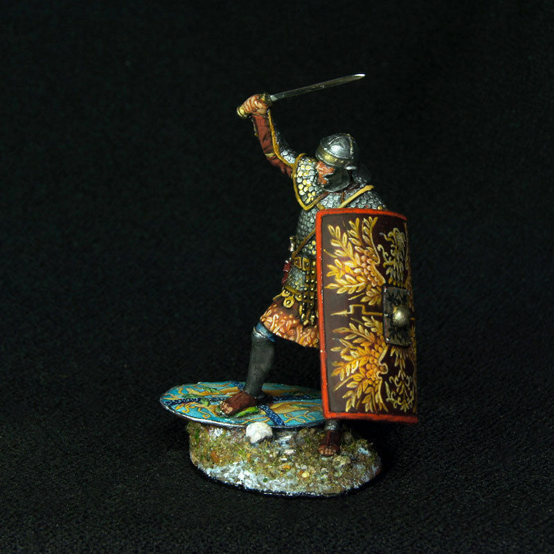 Russian Lead Miniatures.Roman Legionary - 2nd Dacia War 105 A.D