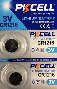 CR1216-Lithium-PKCELL-Watch-Battery-ECR1216-DL1216-3V-2-Battery-USA-Seller
