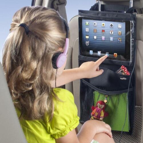 Car Over The Back Of Seat Organiser Tidy Pocket Tablet Holder Organizer Storage