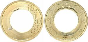 Germany Lack Coinage: 1 F Without Inner Part, Only Ring Prfr St