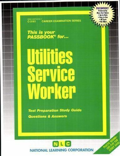 National Learning Corporation-Utilities Service Worker BOOK NEW