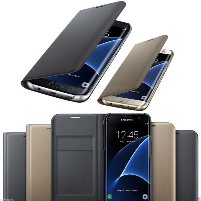 Custodia Cover Flip Portafoglio Pelle Porta Scheda For Samsung Galaxy S6 S7 Edge