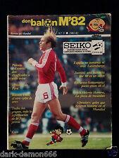 DON BALON MUNDIAL 82 Nº5 1981-82 ESPAÑA-POLONIA-ESCOCIA-PERU ETC