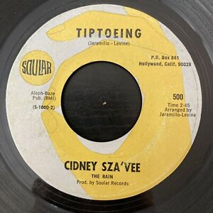 Cindy Sza'vee - Tiptoeing / Marianna - Soular RARE NORTHERN / SWEET SOUL 45 HEAR