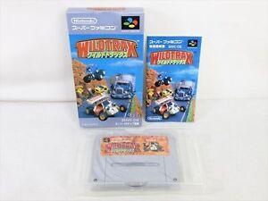 WILD-TRAX-Wildtrax-Super-Famicom-Nintendo-SFC-Import-JAPAN-Video-Game-sf