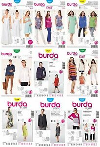 eef7a76ec5d87 Image is loading Burda-Sewing-Patterns-Misses-039-Maternity-Clothes-Future-