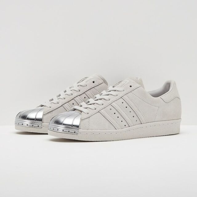 adidas Superstar 80s Metal Toe W shoes grey