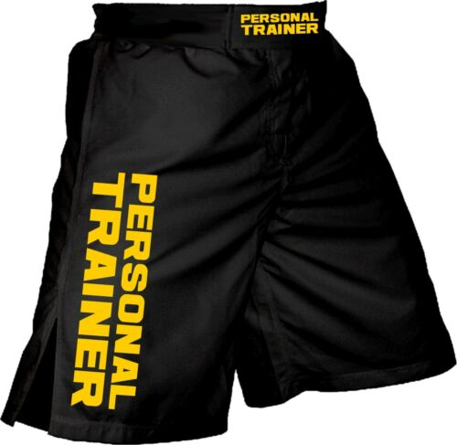 Personal Trainer Shorts MMA Fitness Training CrossFit BJJ Gym Fight Wrestling