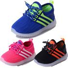 New Baby Kids Boys Girls Sneakers Running Shoes LED Light Up Luminous Sport Shoe
