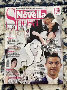 Novella Speciale Sposa 2018.Cristiano Ronaldo & Georgina Rodriguez cover story