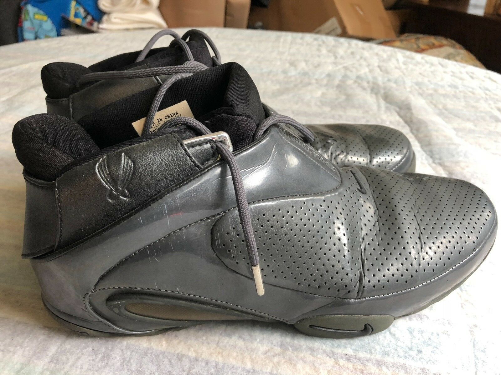 bask et - ball nike grise hommes nike ball taille 11,5 0acd8b
