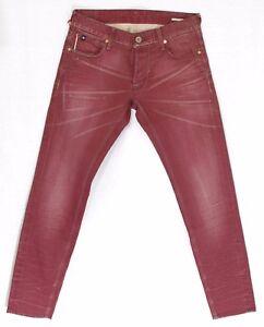 Jeans-711-rouge-JAPAN-RAGS-by-LE-TEMPS-DES-CERISES-homme-ajuste-taille-W-29