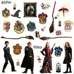 HARRY-POTTER-30-BiG-Wall-Stickers-RON-HERMOINE-New-Room-Decor-Bedroom-Decals