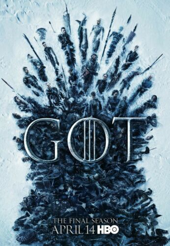 11 x 17 inches The Final Season Game Of Thrones poster