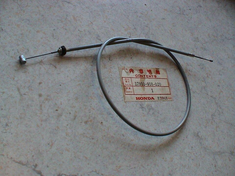 Honda ATC ATC 90 årg. 1975: 17910-918-020 gaskabel