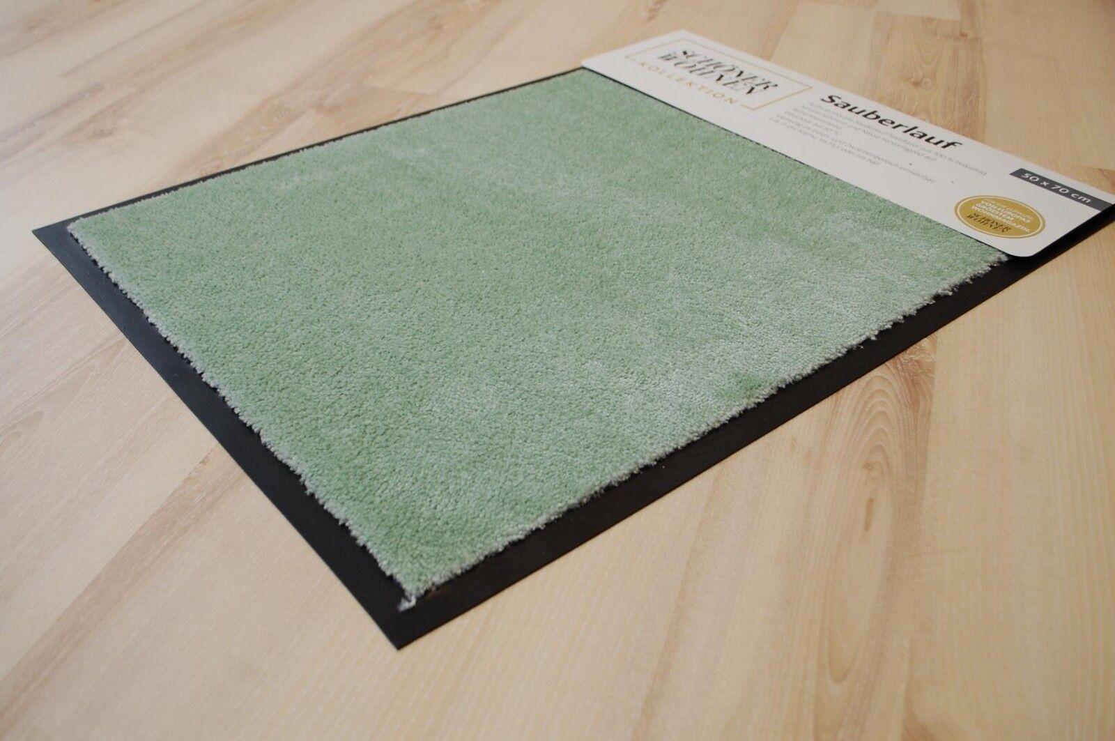 Tappetino bel vivere Miami 1688 UNI 037 MINT 67x100 cm türmatte verde
