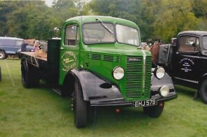 BEDFORD TRUCK PHOTO PHOTOGRAPH A&J HARDING FLATBED CLASSIC LORRY PICTURE EHJ578.