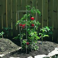 Tomato + Plant Support Cage, Galvanized, Vegetables Growing Planting Set Of 10 on sale
