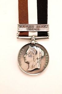 Central-Afrique-Medaille-Armee-Militaire-Local-Forces-Fermoir-Barre-Bretelle-2nd