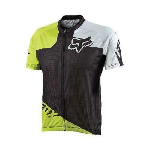 Fox Livewire verde Race Mountain Bike Mtb Jersey Acid verde Livewire Size Small Nuovo 224443