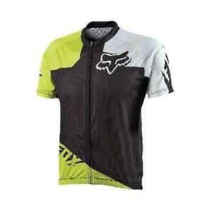 34373b7fa Fox Livewire Race Mountain Bike Mtb Jersey Acid Green Size Small New ...