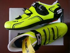 SCARPE SIDI X BICI DA CORSA LEVEL TG 42,5 GIALLO FLUO YELLOW