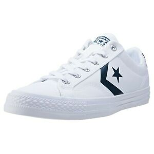 Details about Converse Star Player Ox Unisex Trainers 10.5 UK EU 43.5 WHITE BLACK UNISEX MENS
