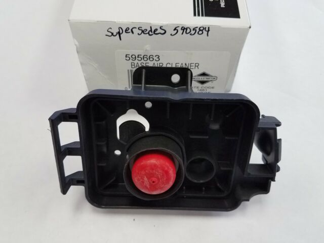 Briggs & Stratton 590584 BASE-AIR CLEANER REPLACED BY 595663 LAWNMOWER OEM