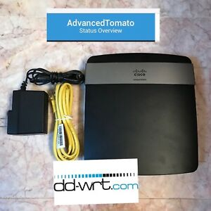 Details about Cisco Linksys E2500 4-Port N600 Wireless N Router WITH DD-WRT  OR TOMATO WITH VPN