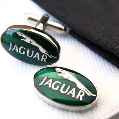 Jaguar Car Logo Mens Cufflinks