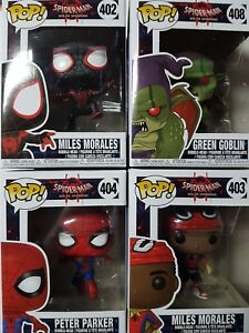 0798e8c4d5f Spider-Man Into the Spiderverse Funko Pop Figures Brand New - YOU ...