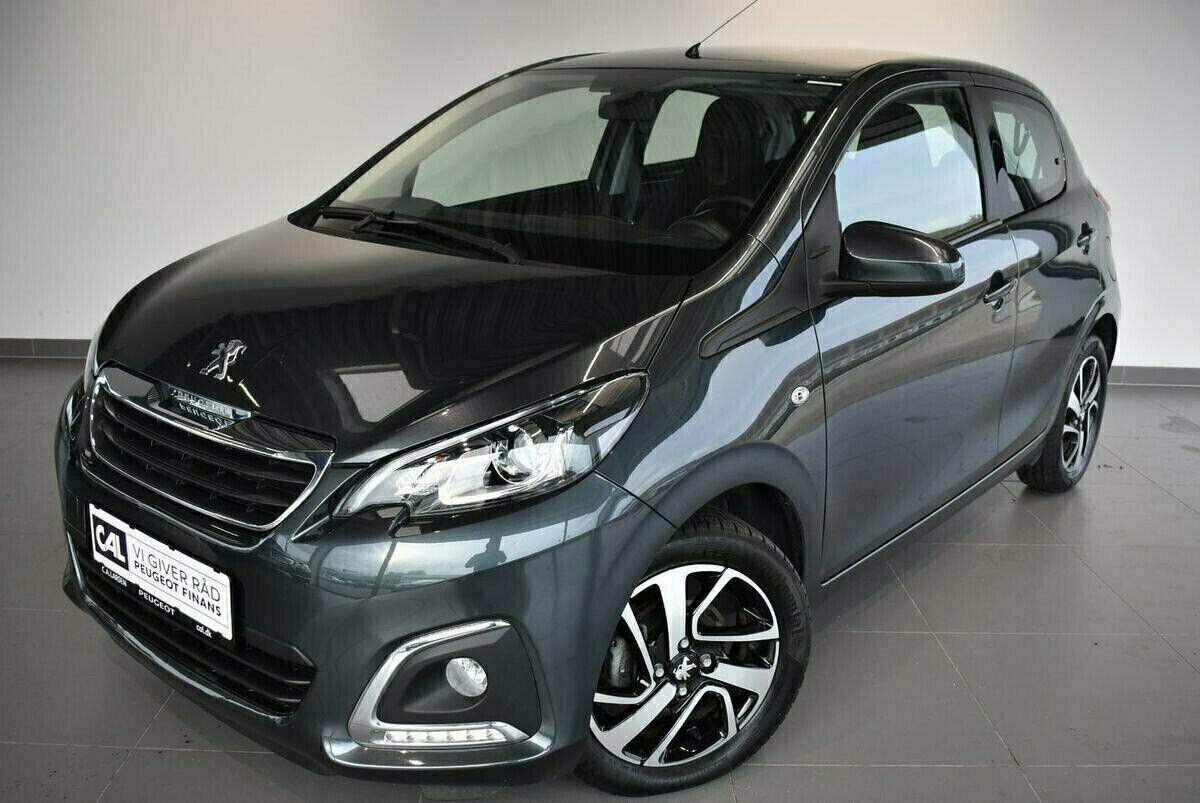 Peugeot 108 1,0 e-VTi 72 Edition:210+ 5d - 104.900 kr.