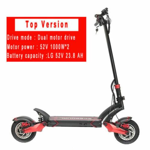 52V 2000W off-raod 65km//h Zero10X Speedual 10inch dual motor electric scooter