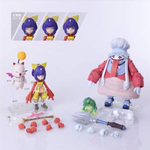 Square-Enix-Bring-Arts-Final-Fantasy-IX-Eiko-Carol-amp-Quina-Quen-Figure-PVC-NO-BOX
