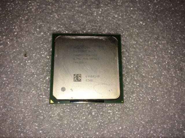 Processore Intel Celeron D 330 SL7NV 2.66GHz 533MHz FSB 256KB L2 Socket PPGA478