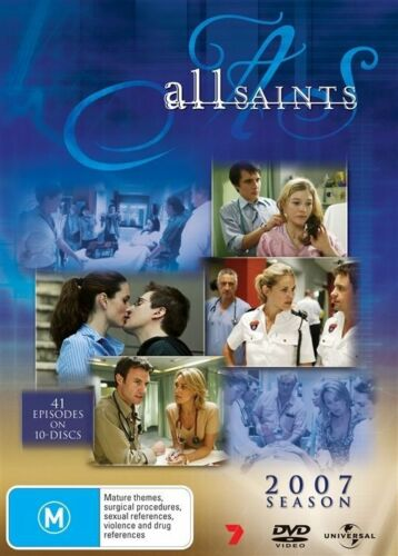 1 of 1 - All Saints 2007 Boxset (DVD, 2009, 10-Disc Set) - Region 4 - Brand New.