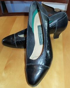 f3f37506df2 Details about Easy Spirit Black Pumps Shoes 6 1/2 AA