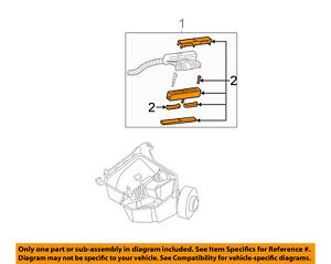 Cadillac GM Oem 0002 Deville 46lv8 Wiring Harnessconnector Kit. La Foto Se Est Cargando GMoemcadillac0002deville46l. Cadillac. Cadillac 4 6l Diagram At Scoala.co