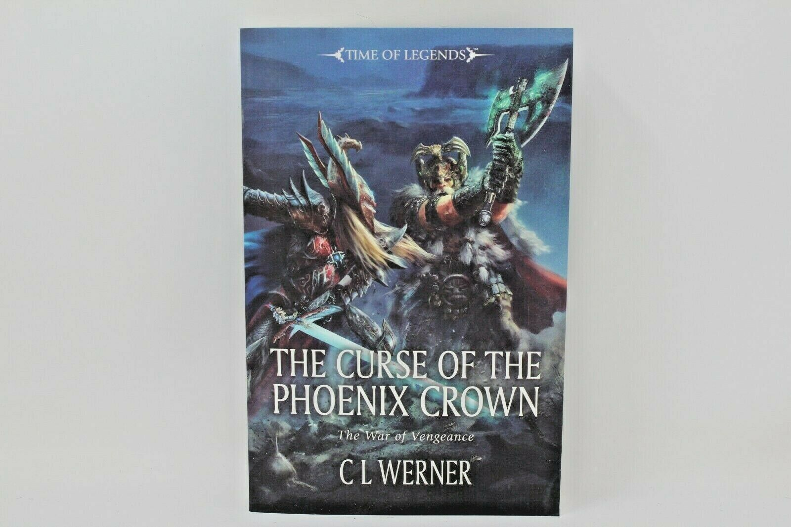 Warhammer Novel The Curse Of The Phoenix Crown Soft Cover
