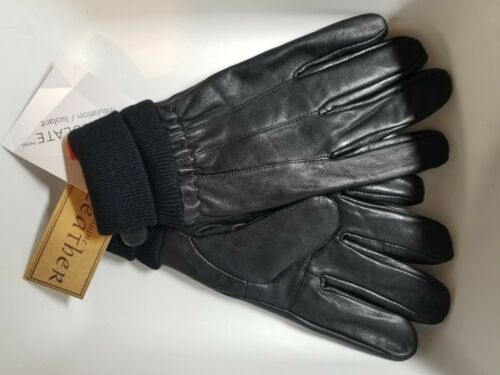 Mens Thinsulate Genuine Leather Gloves