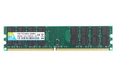 For SAMSUNG 4GB PC2-6400U 2Rx4 DDR2 800Mhz DIMM Desktop RAM Memory Only for AMD