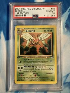 Pokemon-PSA-10-1st-Edition-Beedrill-18-75-Neo-Discovery-POP-17