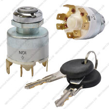 12V Universal Ignition Switch & 2 Keys - Boat Car Lawnmower Classic/Kit Car