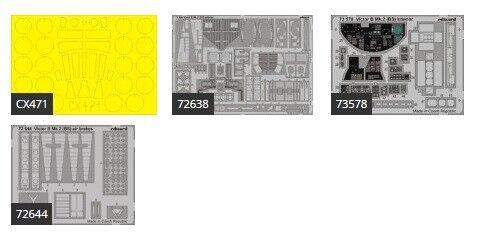 Eduard 1 72 Handley-Page Victor B.2 Big-Ed Set for Airfix